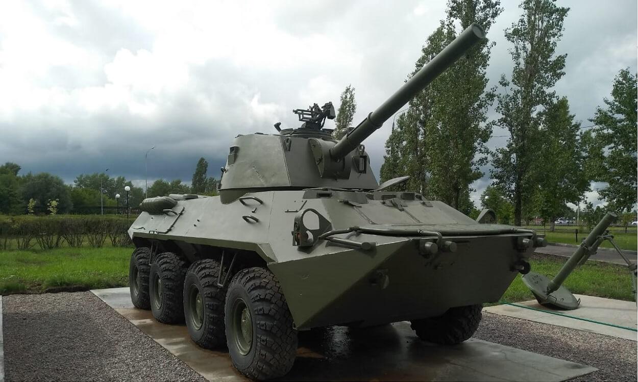 """НОНА"" Самоходная артиллерийская установка"
