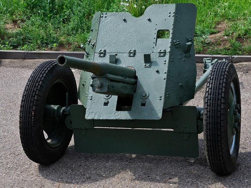 Противотанковая пушка-45мм
