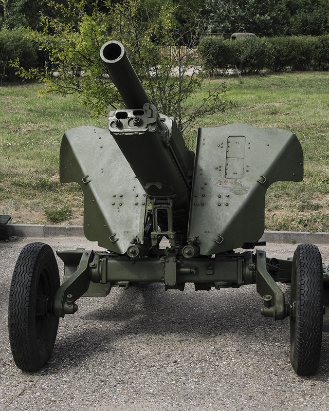 2А2 76,2 мм горная пушка