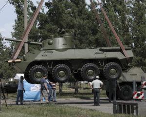 """Самоходное артиллерийское орудие 2С23 """"Нона-СВК"""""""