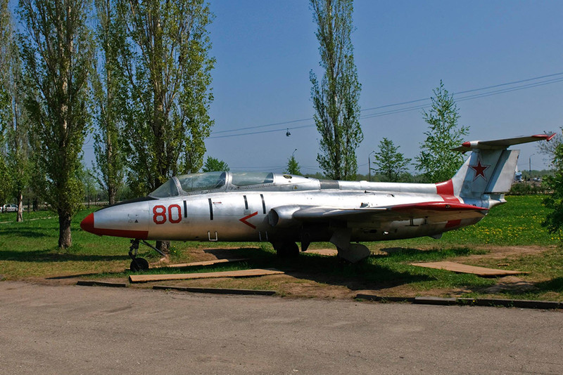 Учебно-тренировочный самолёт Л 29